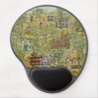 Handy Historic Homer Landmarks Gel Mousepad
