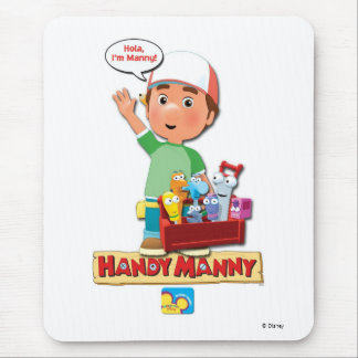 Handy Manny And His Talking Tools Disney Mouse Pad