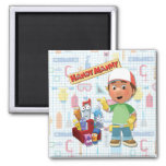 Handy Manny and his Talking Tools Fridge Magnet