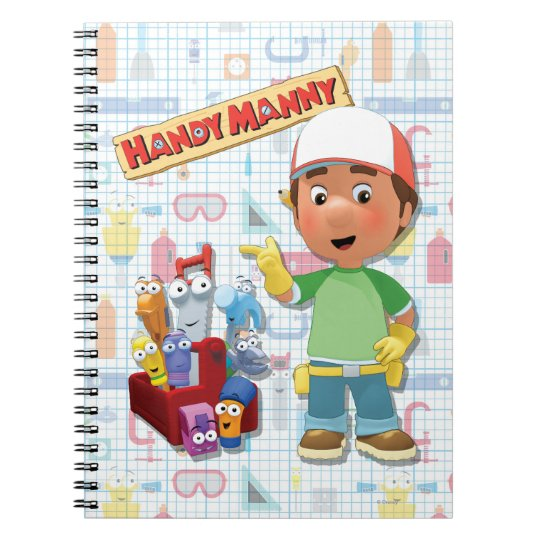 Handy Manny and his Talking Tools Notebook