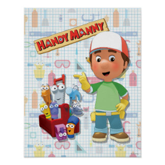Handy Manny and his Talking Tools Poster