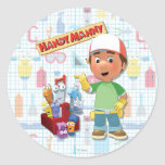 Handy Manny and his Talking Tools Classic Round Sticker