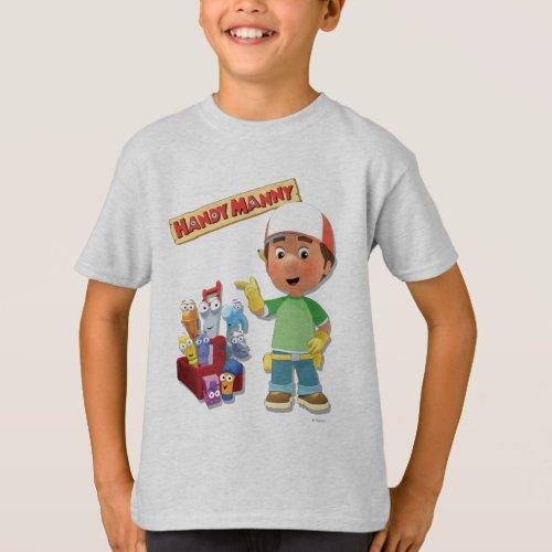Handy Manny and his Talking Tools T_Shirt