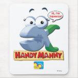 Handy Manny Squeeze Hi, I'm Squeeze! Disney Mouse Pad