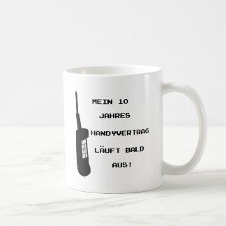 Handy Vertrag Spruch icon Coffee Mug