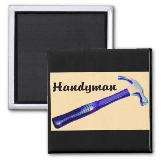 Handyman 2 Inch Square Magnet