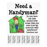 "Handyman 8.5"" X 11"" Flyer"