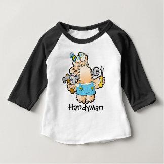 Handyman Baby Raglan T-shirt