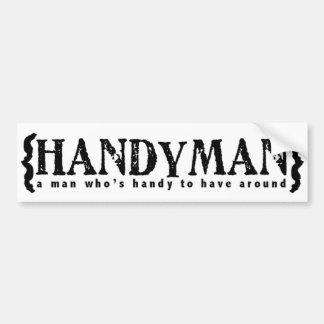 Handyman Bumper Stickers