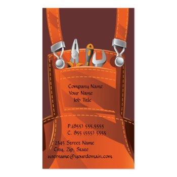 Handyman Business Business Card
