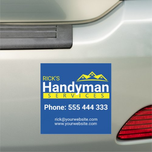 Handyman Business Car Magnet _ Home Business