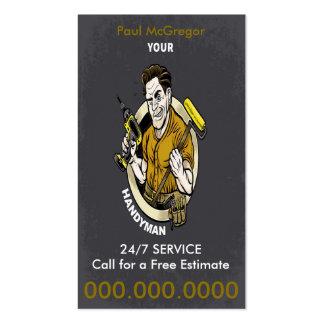 Handyman Business Card Tarjetas De Visita