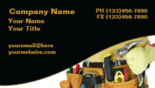 Handyman business cards zazzle handyman business cards friedricerecipe Gallery
