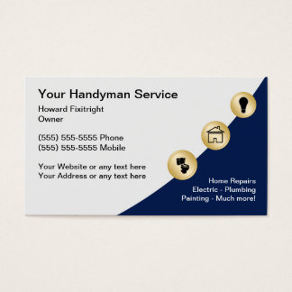 Electrical Contractor Business Cards & Templates   Zazzle