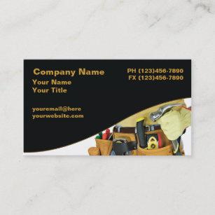 Handyman business cards zazzle handyman business cards colourmoves