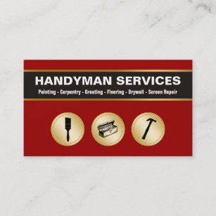 Handyman business cards zazzle handyman business cards reheart Choice Image