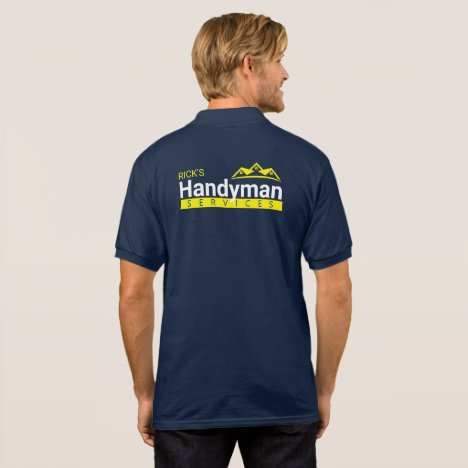 Handyman Business Polo Shirt - Home Business