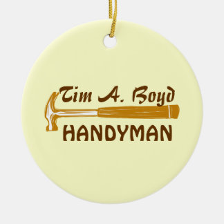 Handyman Business  Promo Items Ornaments