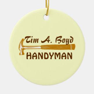 Handyman Business  Promo Items Ornaments