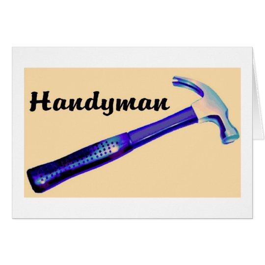 Handyman Card