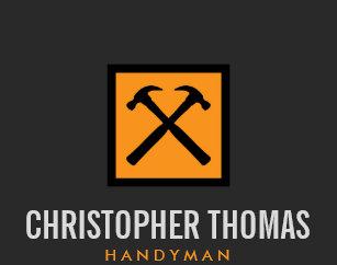 Handyman business cards templates zazzle handyman carpenter builder orange hammer logo ii business card flashek Images