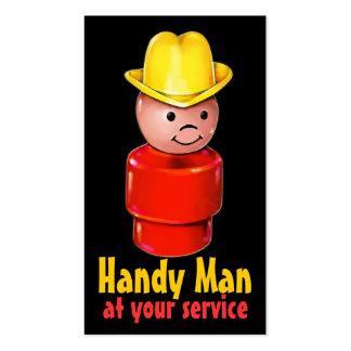 Handyman Carpenter Plumber Electrician Painter Business Cards
