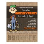 Handyman.Carpenter.PlumberPainter.Odd jobs Flyers