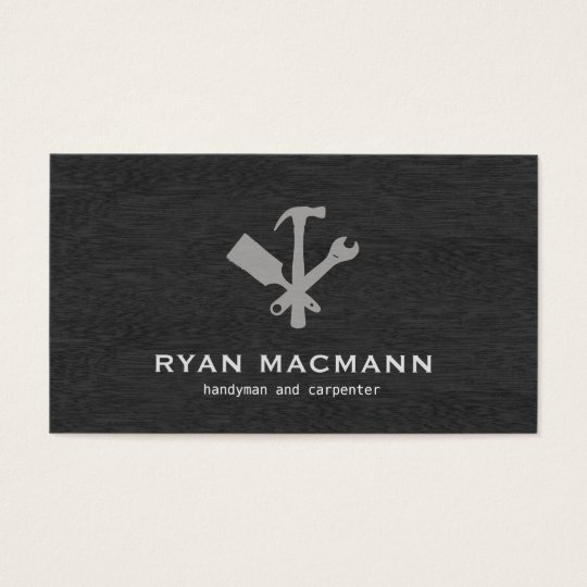 Handyman carpenter tools home improvement business card zazzle handyman carpenter tools home improvement business card colourmoves