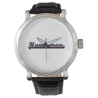 Handyman Classic Job Design Wristwatches