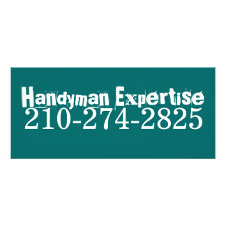 Handyman Expertise, 210-274-2825 Rack Card