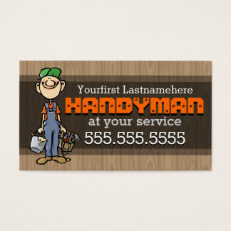 Handy Man Business Cards Templates Zazzle