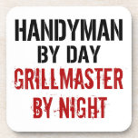 Handyman Grillmaster Drink Coaster