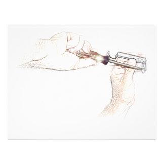 "Handyman Hands with Screwdriver (Mr. Fix-it) 8.5"" X 11"" Flyer"