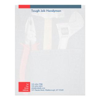 Handyman Letterhead