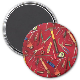 Handyman maintenance and contractor hand tools 3 inch round magnet