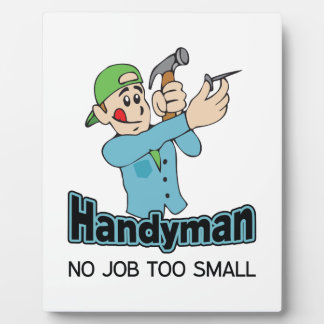HANDYMAN NO JOB TOO SMALL PLAQUES