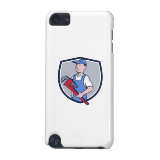 Handyman Pipe Wrench Crest Cartoon iPod Touch (5th Generation) Case