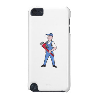 Handyman Pipe Wrench Standing Cartoon iPod Touch 5G Cover
