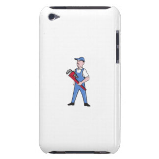 Handyman Pipe Wrench Standing Cartoon iPod Touch Case