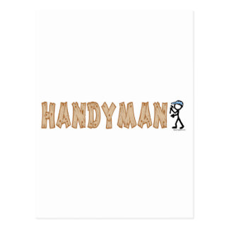 Handyman Postcard