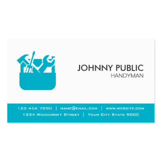 Handyman - Professional Cards - Any Color Double-Sided Standard Business Cards (Pack Of 100)
