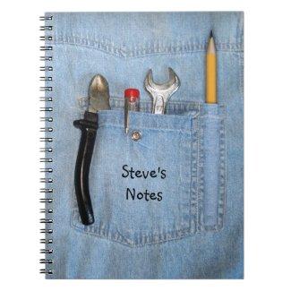 Handyman Spiral Note Books