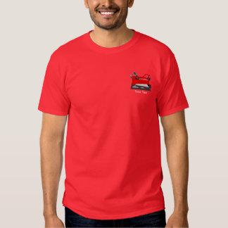Handyman Tool Box Design Red T-shirt