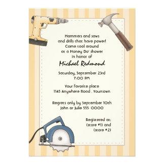 Handyman Tool Shower Invitation
