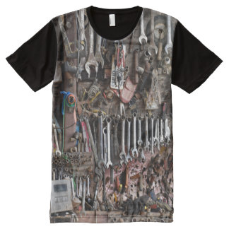 Handyman Tools All-Over-Print T-Shirt