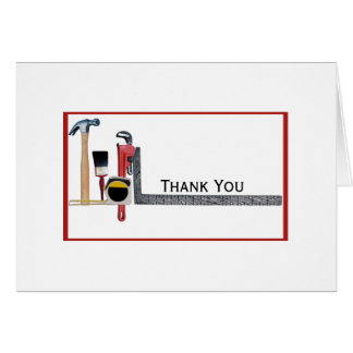 Handyman Tools Card