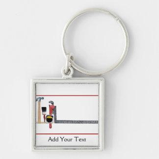 Handyman Tools Keychain