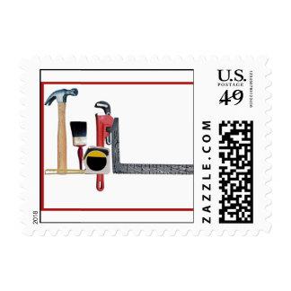 Handyman Tools Stamp