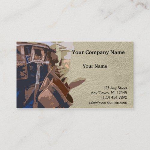 Handyman Tools Watercolor Business Card