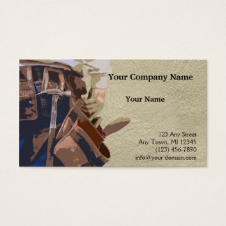 Handyman Tools Watercolor Business Card
